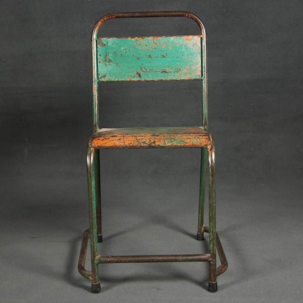 Sillas de comedor y sillas de hierro batavia - Muebles industriales antiguos ...