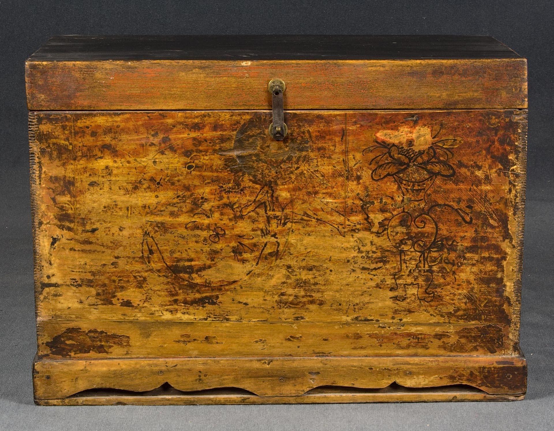 Ba l antiguo y ba l de madera batavia - Baul de madera antiguo ...