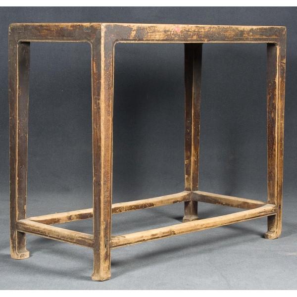 Mesa auxiliar y mesa de madera batavia - Mesas auxiliares antiguas ...