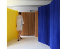 Biombo softwall kraft azul indigo