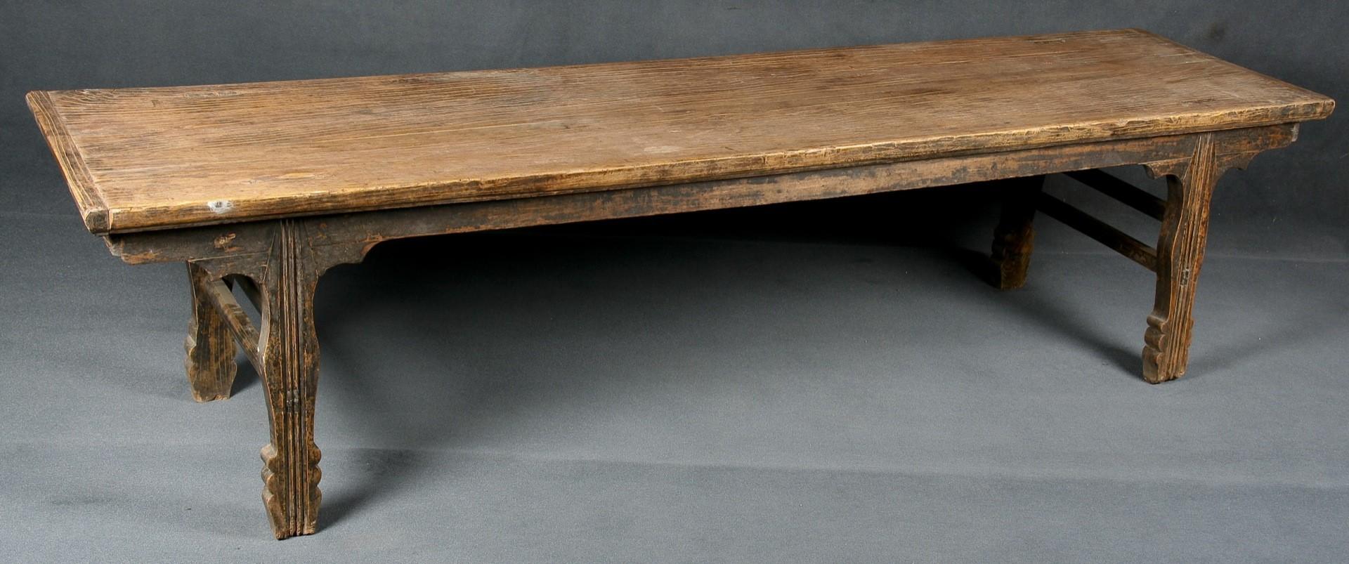 Banco y banco antiguo batavia for Bancos merenderos de madera