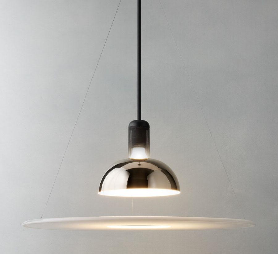 L mpara de techo frisbi - Iluminacion de techo ...