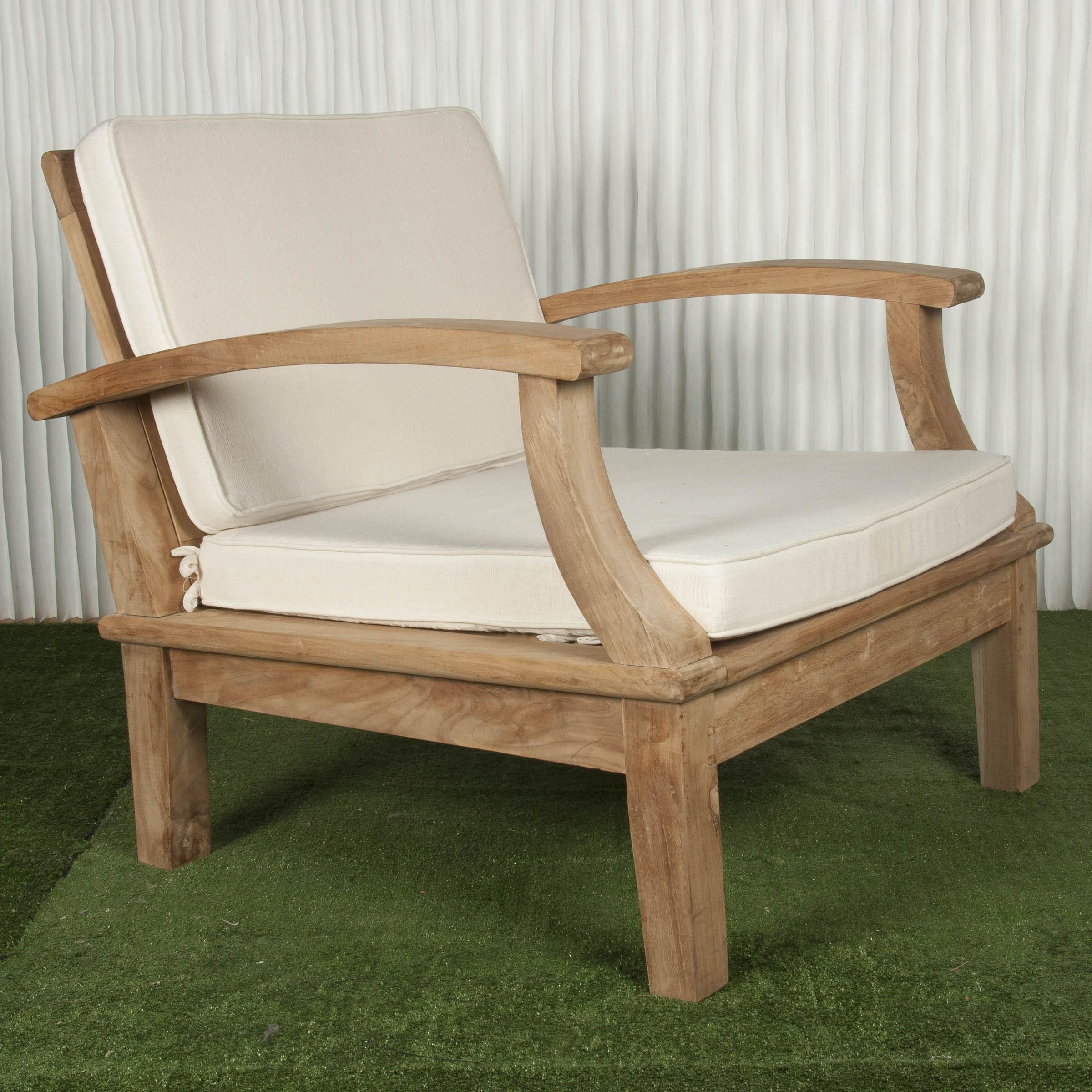 Butaca exterior y butaca de madera batavia for Muebles exterior