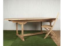 Mesa exterior extensible