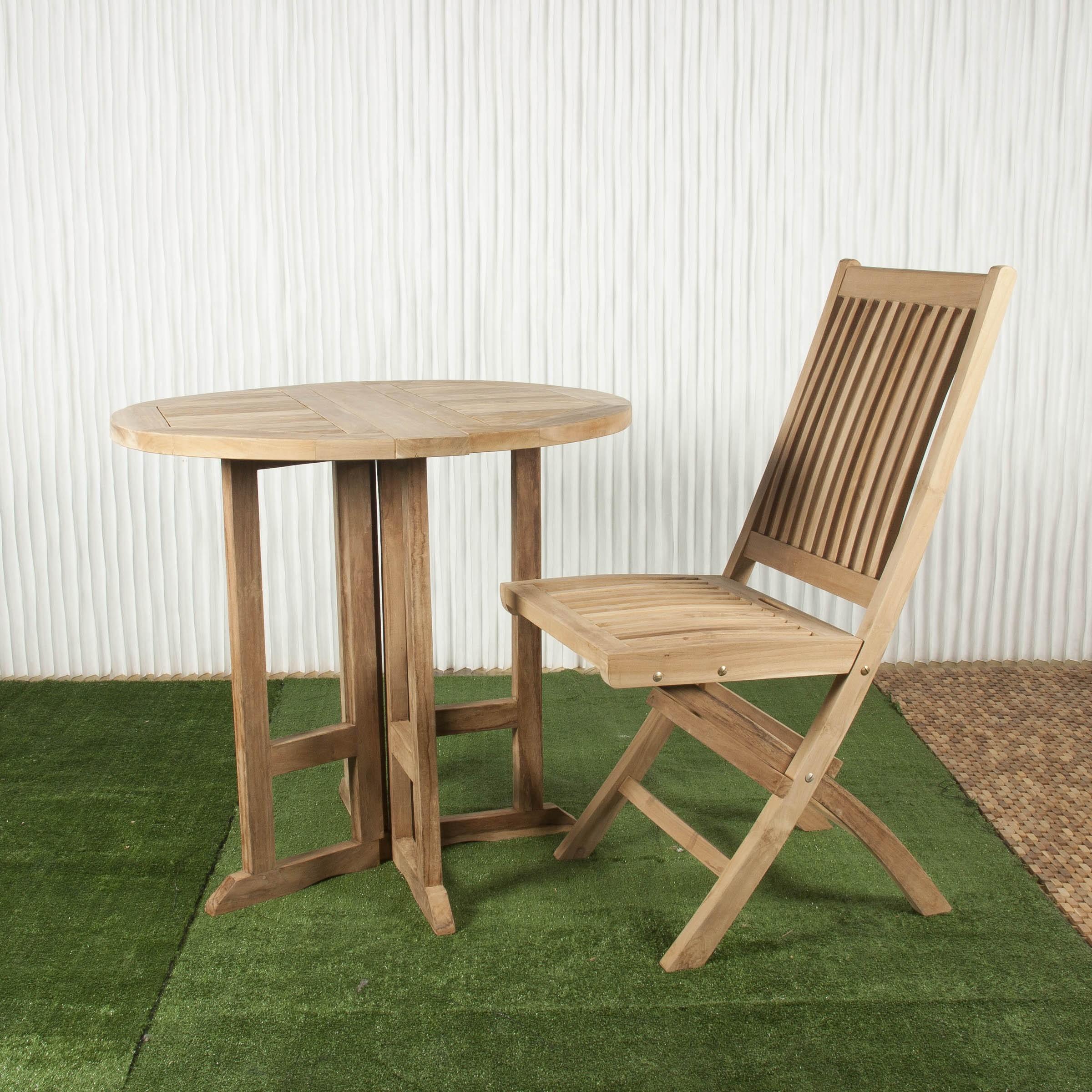 Mesa exterior y mesa de comedor batavia for Mesa comedor exterior