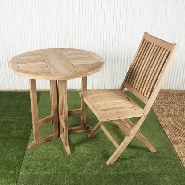 Mesa exterior y mesa de comedor batavia - Mesa plegable alas ...