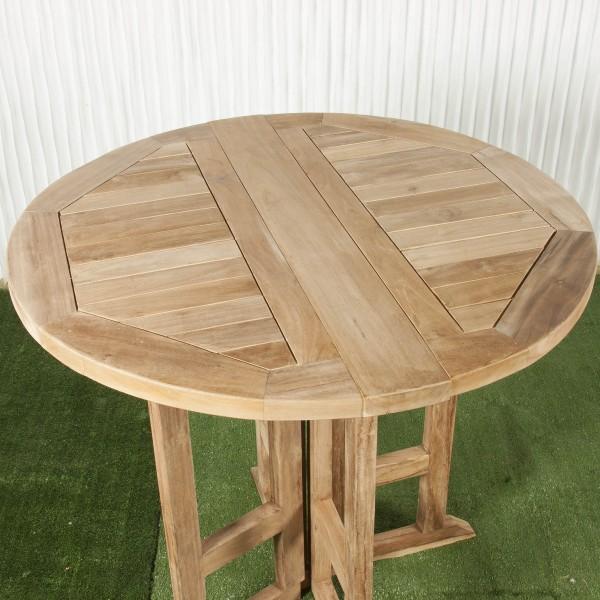 Mesa exterior y mesa de comedor batavia - Mesa plegable exterior ...