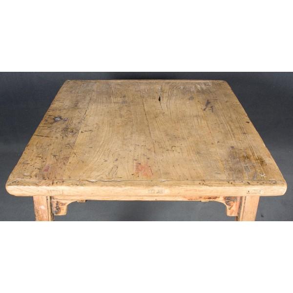 Mesas de cocina antiguas finest cocina blanca con suelo - Mesas antiguas de cocina ...