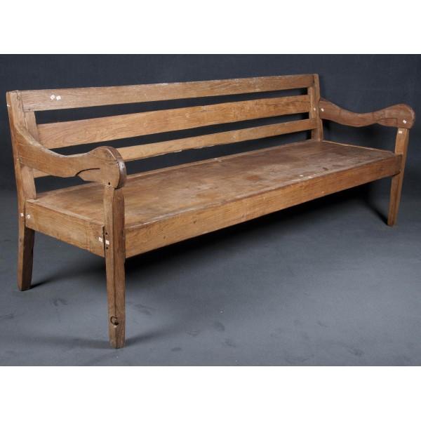 Banco y banco de madera batavia - Bancos de madera rusticos ...