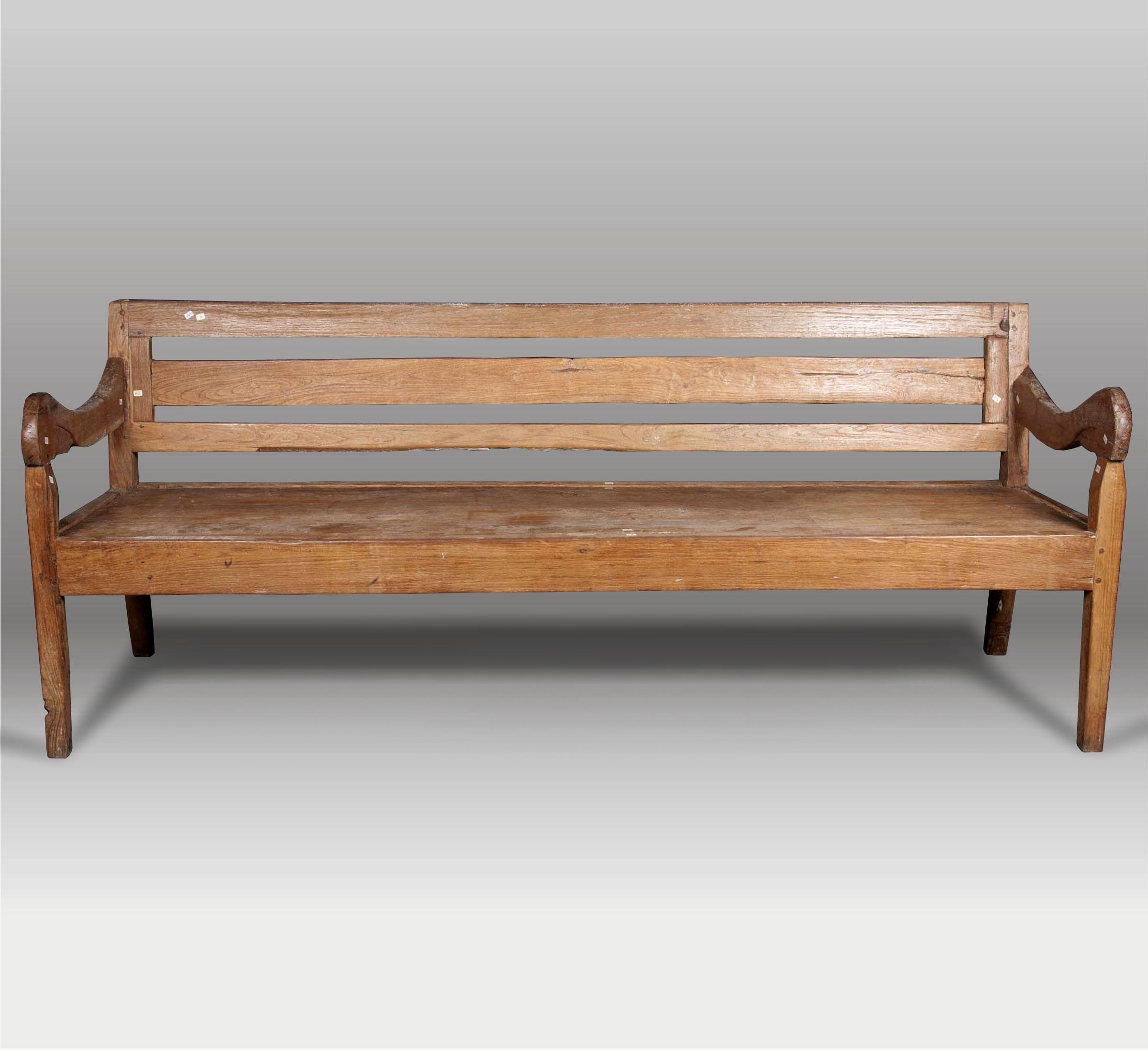 Bancos de madera para interior banco de madera baja la - Bancos de madera para interior ...