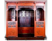 Cama china finales S.XIX