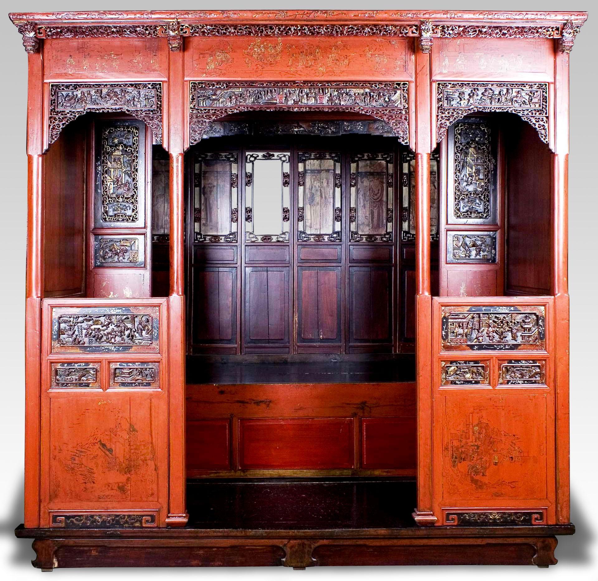 Cama china y Cama antigua : Batavia