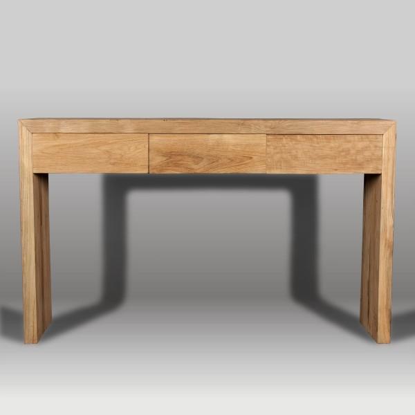 Consola y consola de madera batavia - Consolas muebles ...