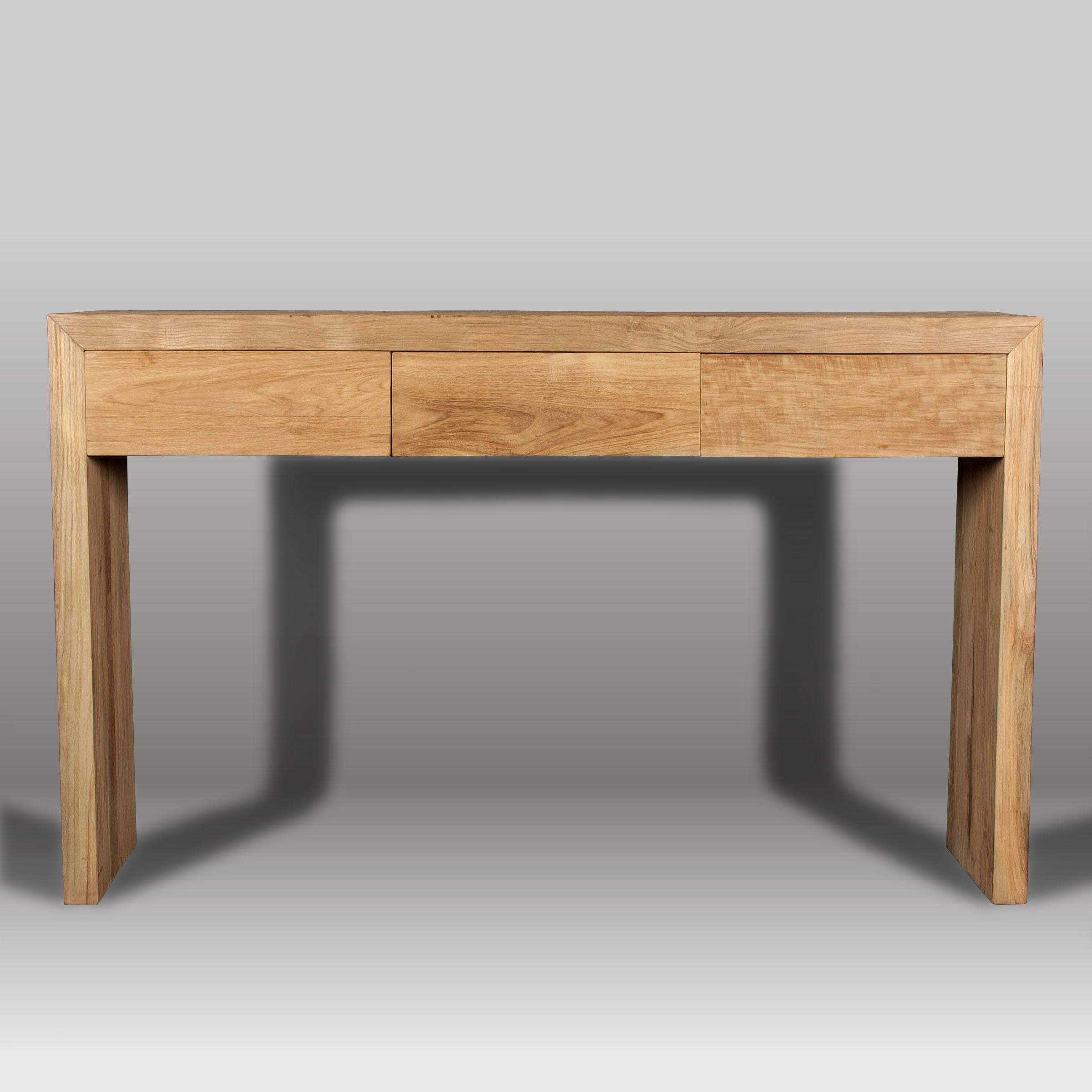 Consola y consola de madera batavia - Muebles para consolas ...