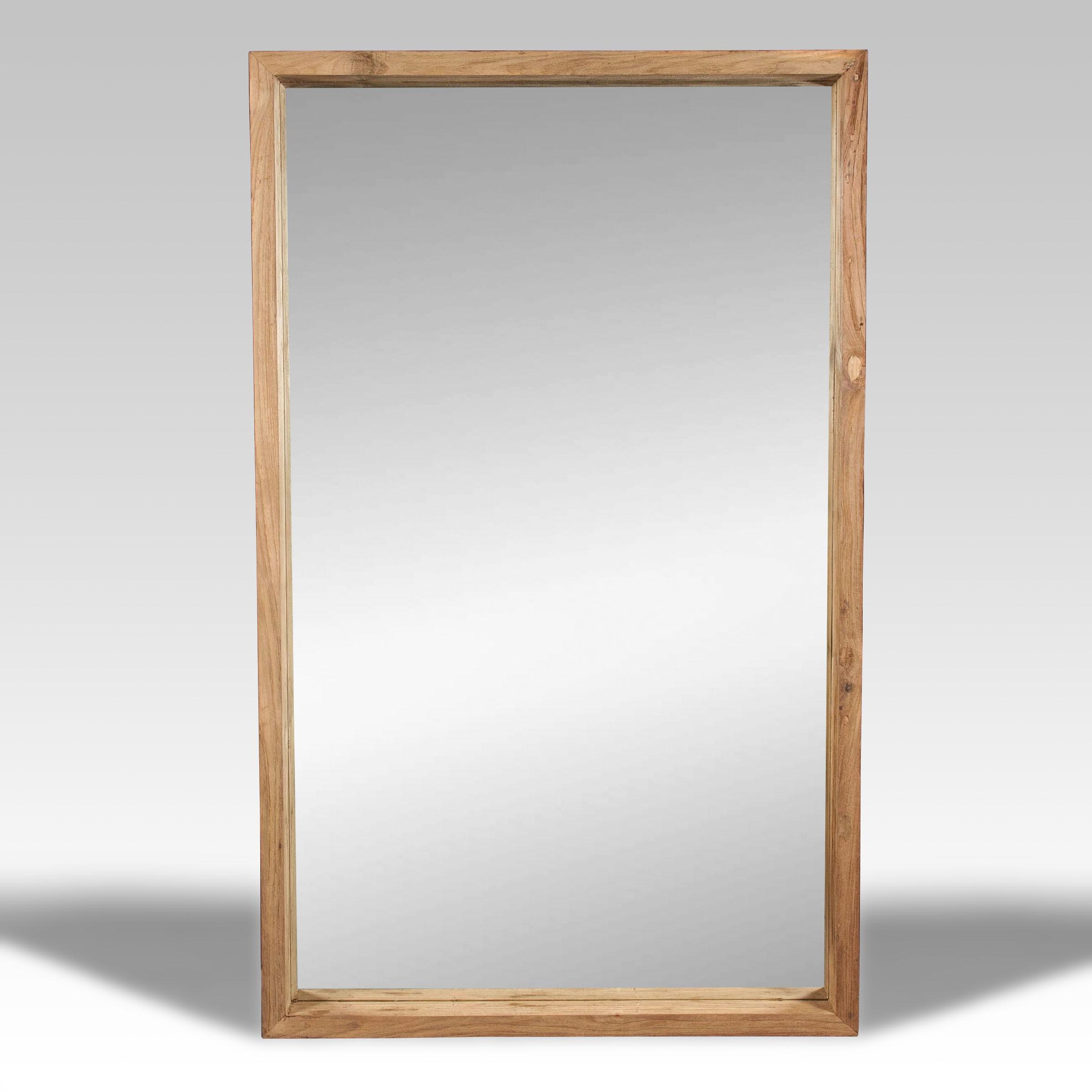 Espejo y espejo de madera batavia for Espejo de pie