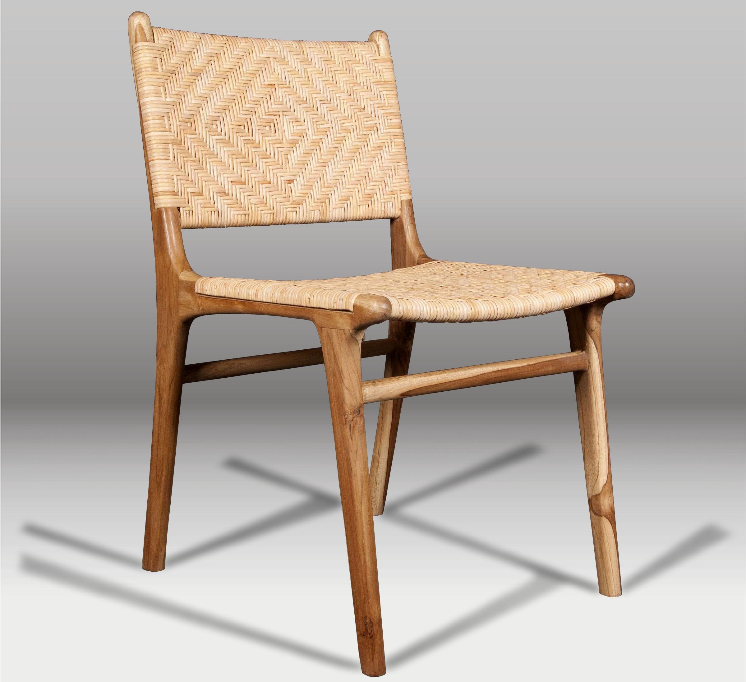 Silla de comedor y silla de madera batavia for Sillas apilables comedor