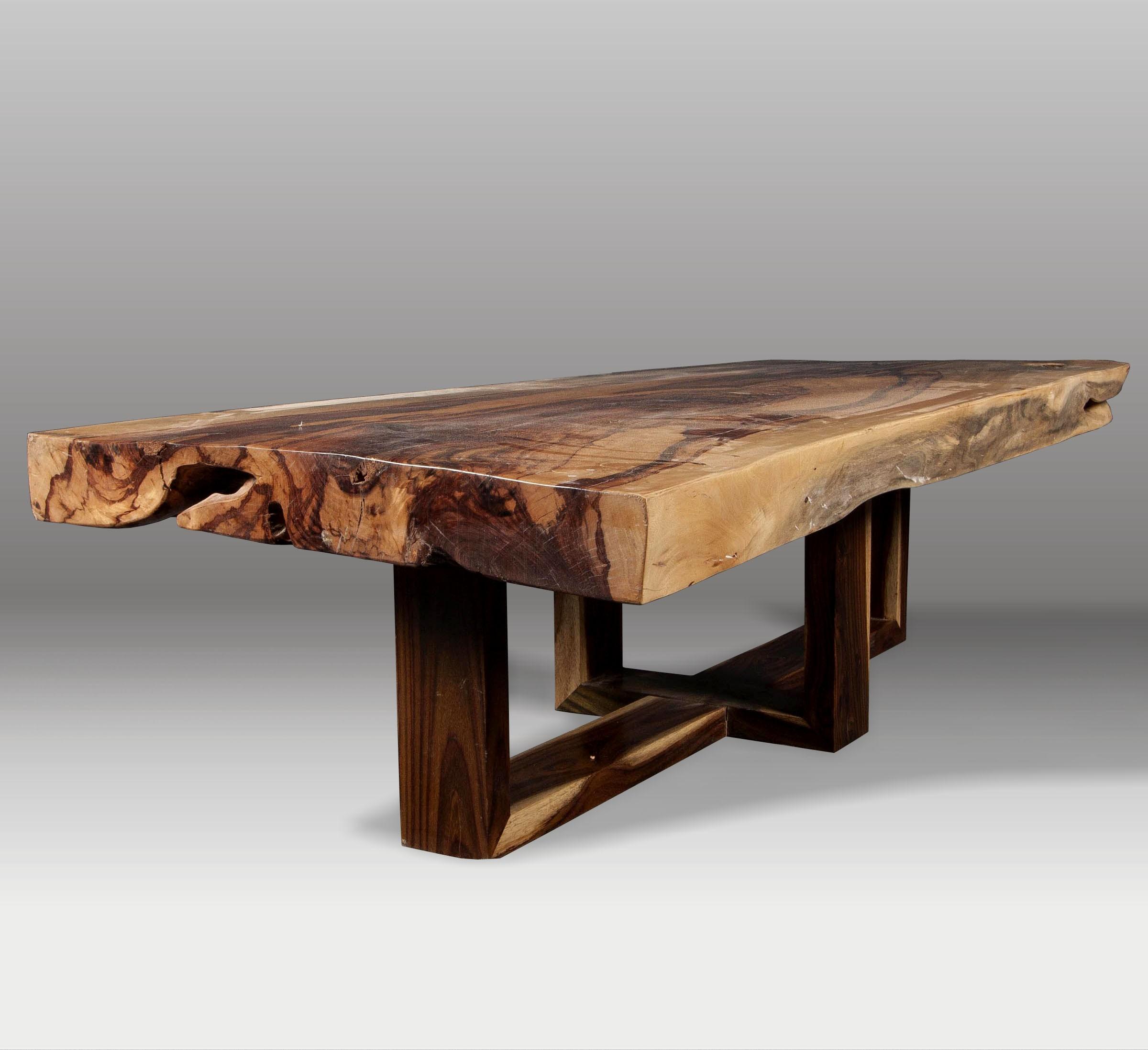 Mesa de centro y mesa de tamarindo batavia - Mesa de centro de madera ...