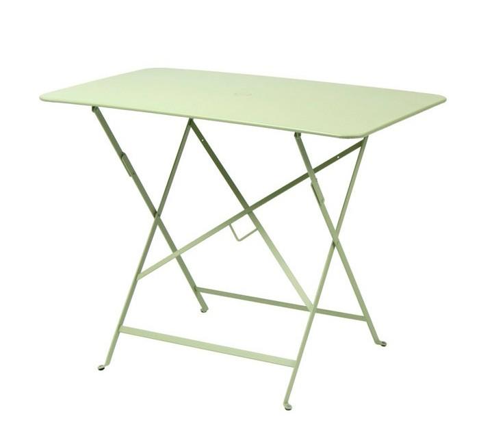 Mesa de comedor exterior y mesa bistro rectangular de - Mesa plegable exterior ...