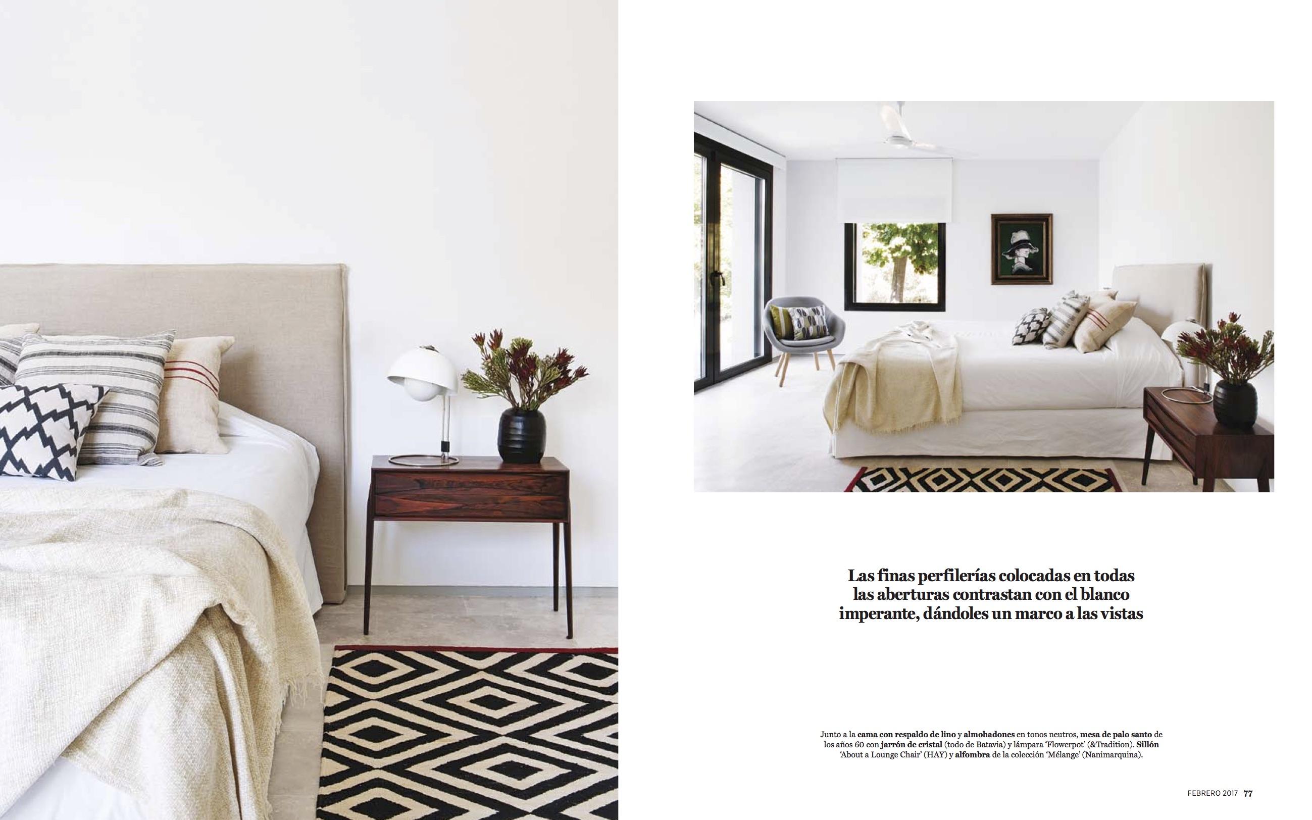 Proyecto de interiorismo de batavia en la revista argentina living blog de muebles y decoraci n - Estudios de interiorismo y decoracion ...