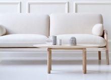 Estilo de los sofás de diseño nórdico