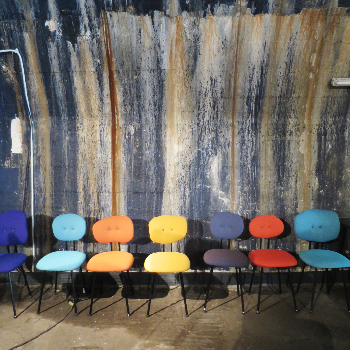 silla 101 de martin chair en la feria de milán