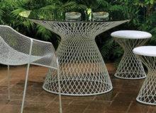Mesas de exterior de diseño para tu jardín