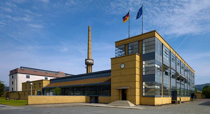 Fábrica Fagus diseñada por Walter Grupius