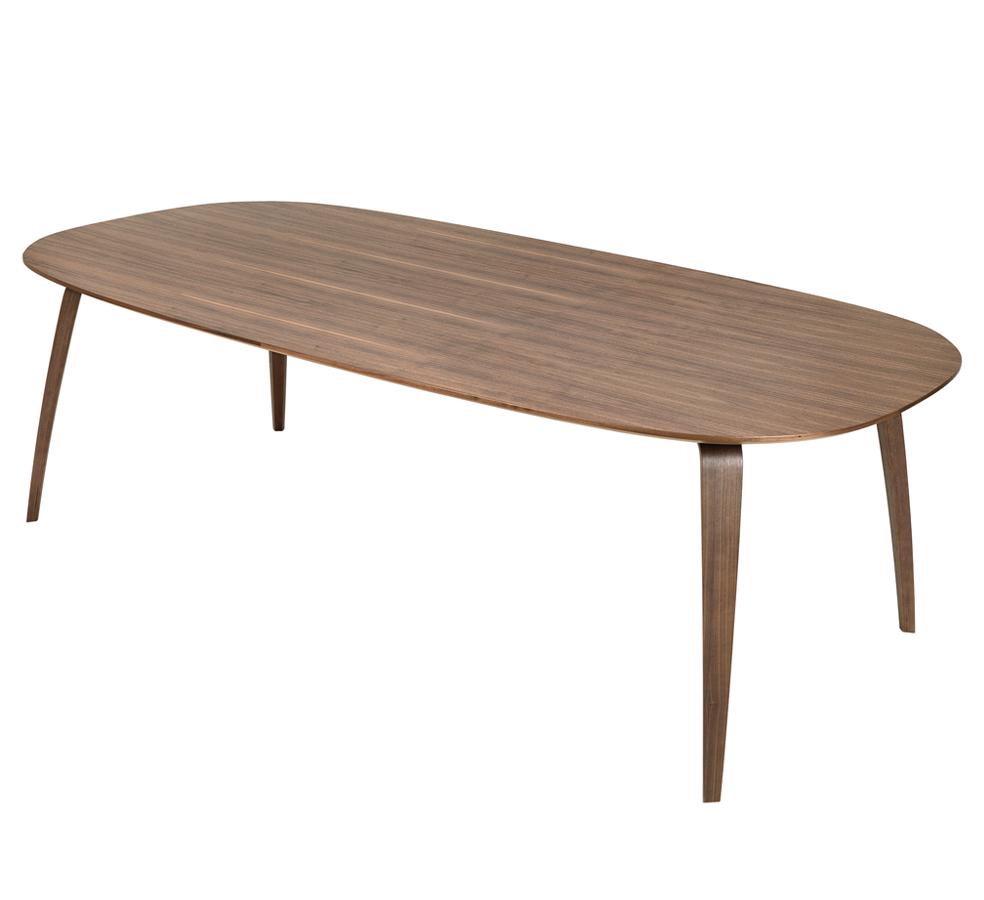 Mesa de comedor y mesa de comedor oval gubi batavia for Mesas ovaladas para comedor