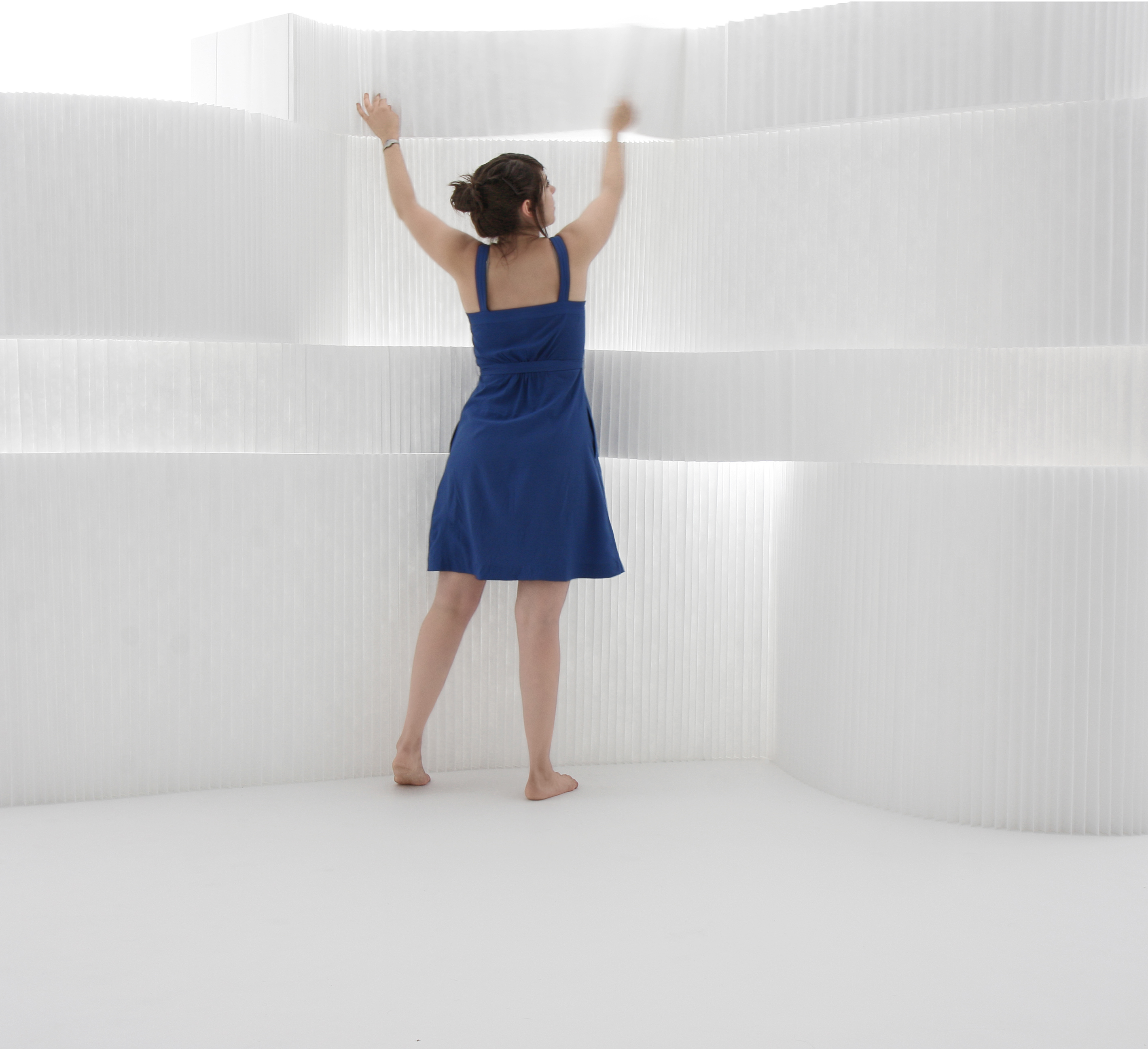 Biombo softblock textile blanco * molo design