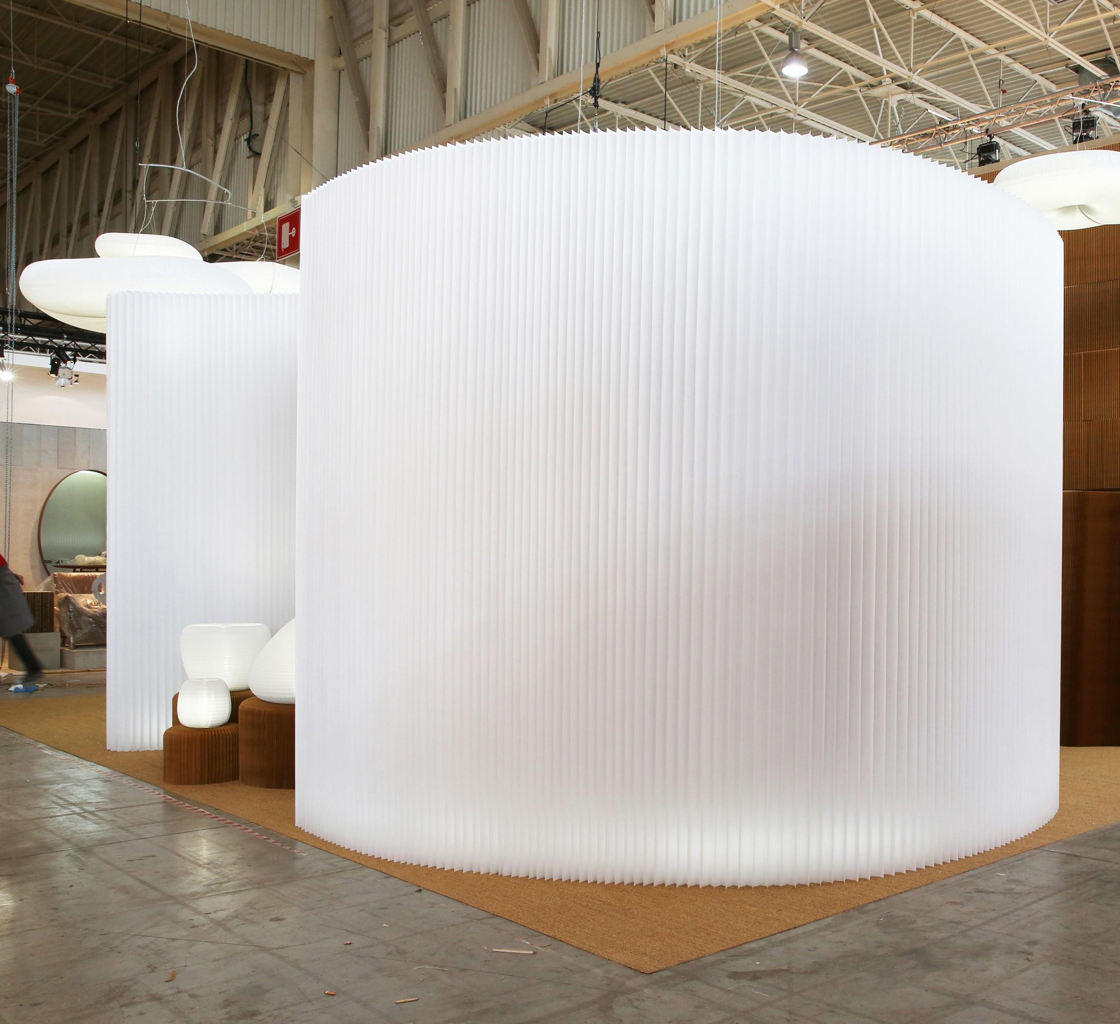 Biombo softwall textile blanco * molo design