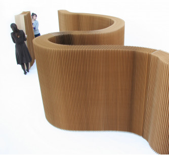 Biombo softwall kraft natural * molo design