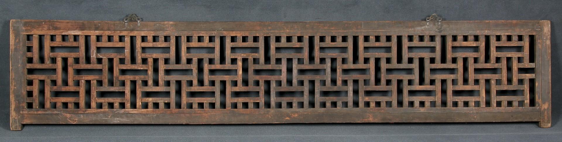 Panel tallado chino