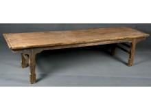 Banco chino antiguo de madera