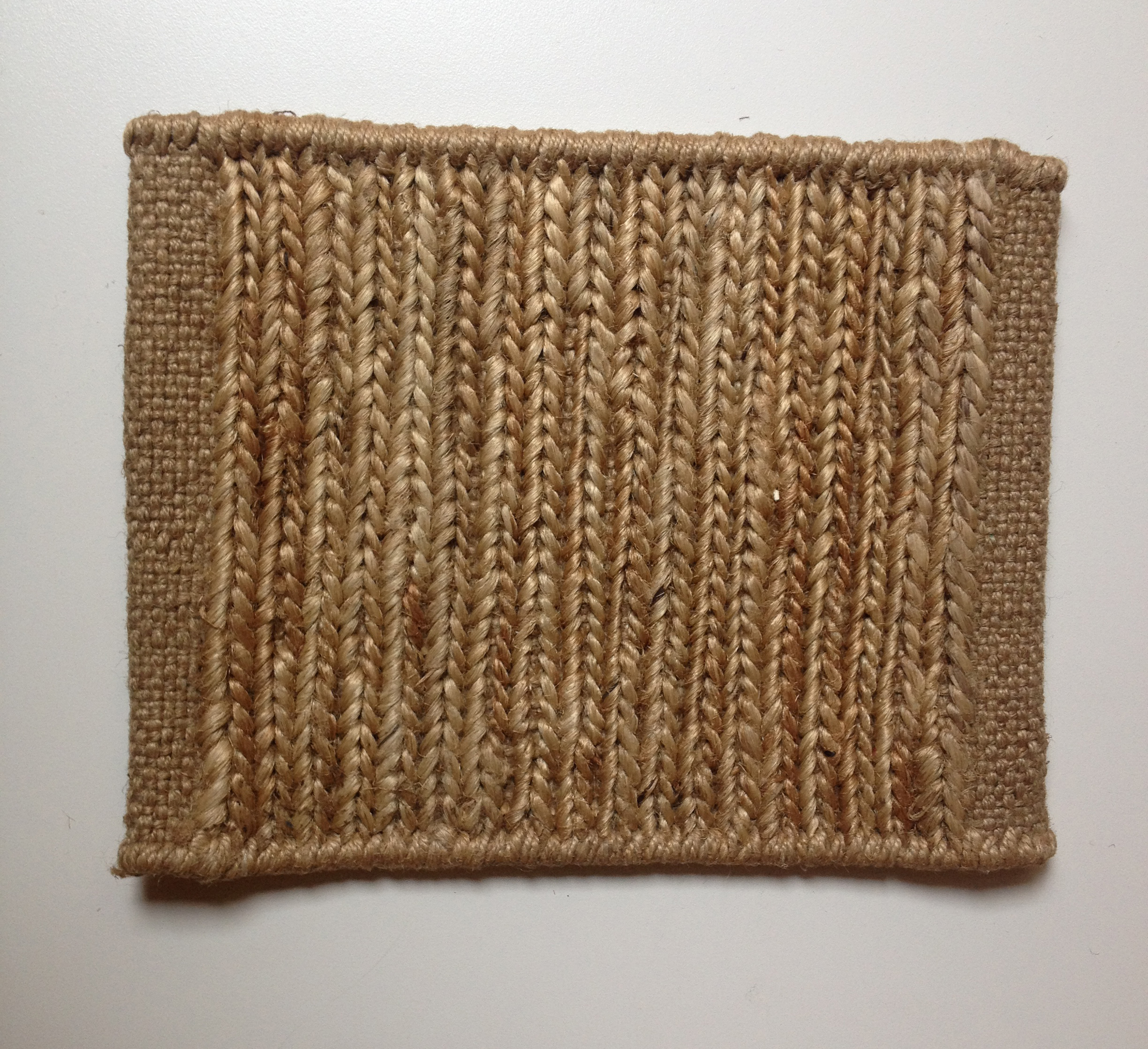 Alfombra Natural Knitted