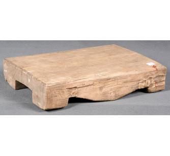 Pedestal de madera
