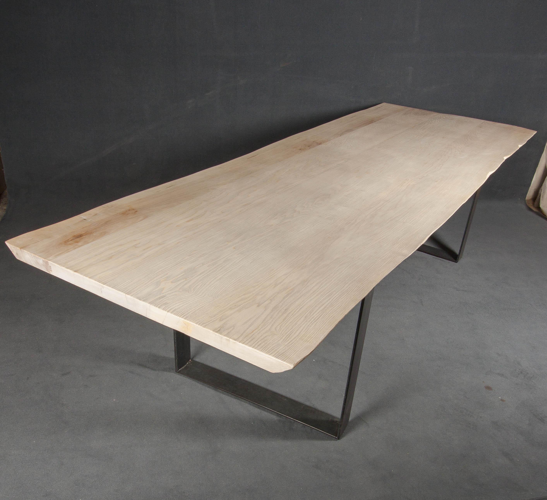 Mesa de comedor 1 tablero de fresno