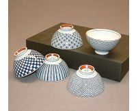 Set 5 boles de cerámica para arroz