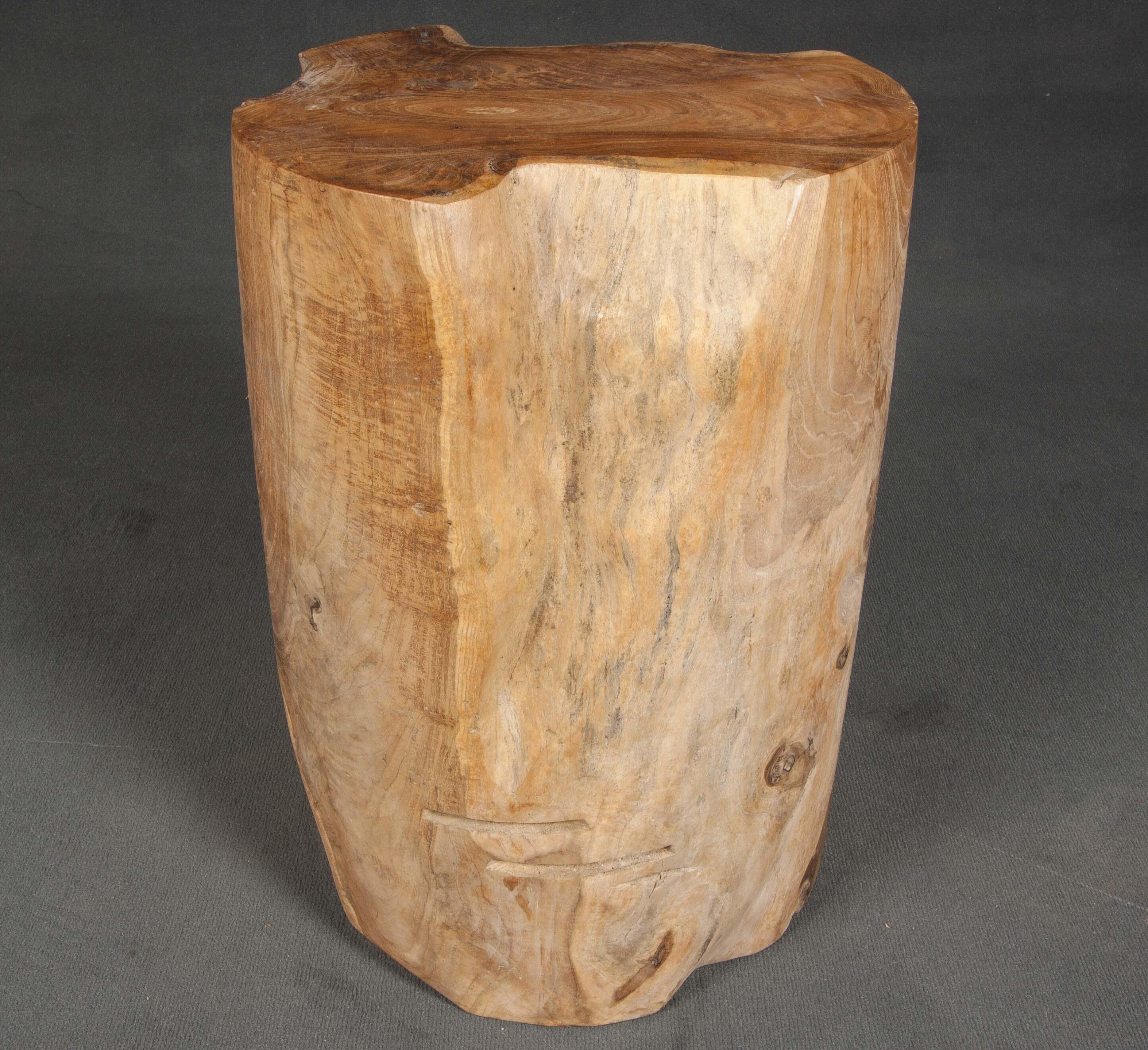 Taburete de madera
