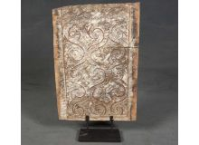 Escultura de talla antigua