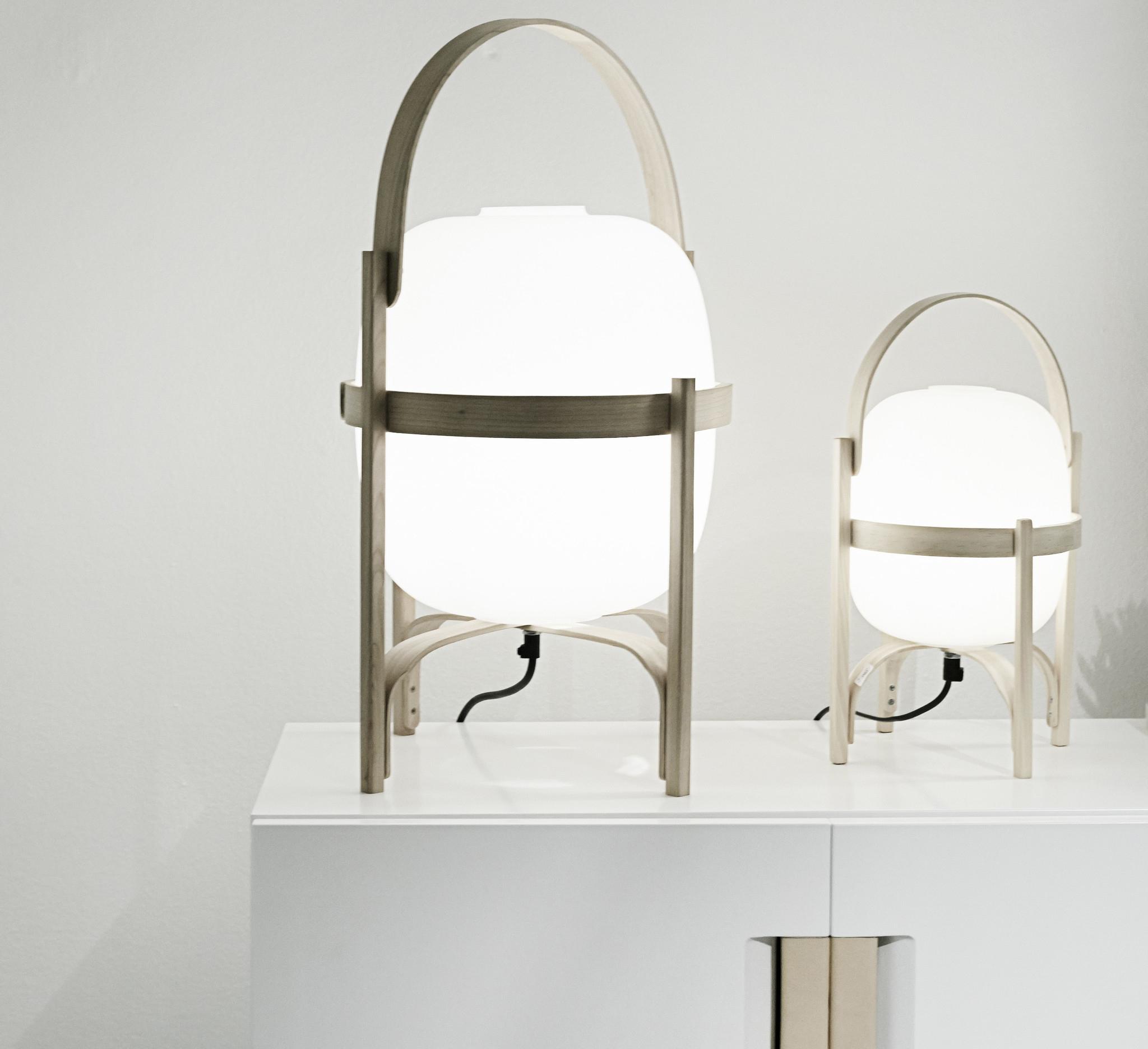 Lámpara de mesa Cestita Opal