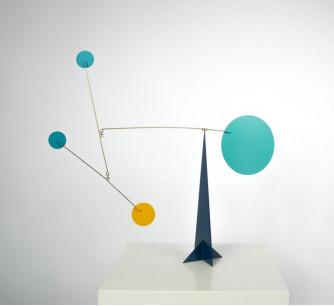 Escultura móvil Dallas