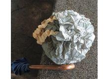 Bolso arrugado Crumpled