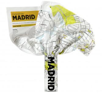Mapa Crumpled Madrid