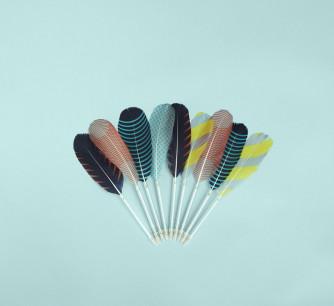 Bolígrafo Feather