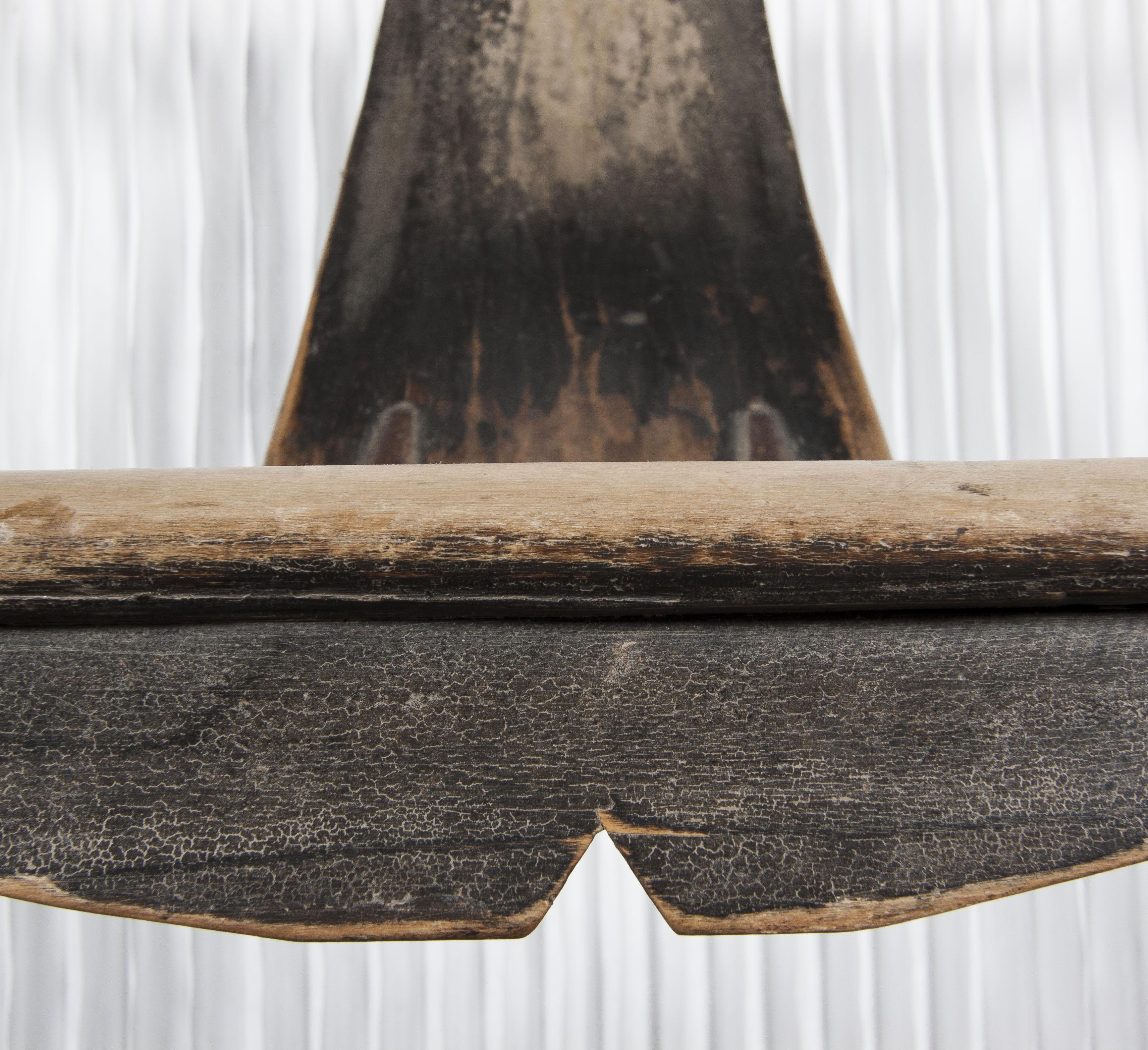 Silla china antigua con brazos