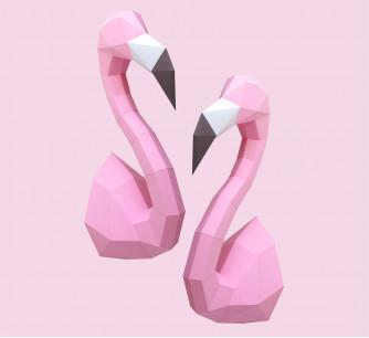 Kit Flamingo rosa