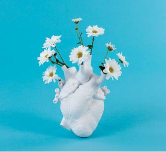 Jarrón corazón Love in Bloom * Seletti