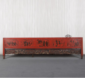 Panel tallado antiguo