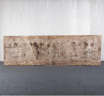 Panel de Toraja antiguo