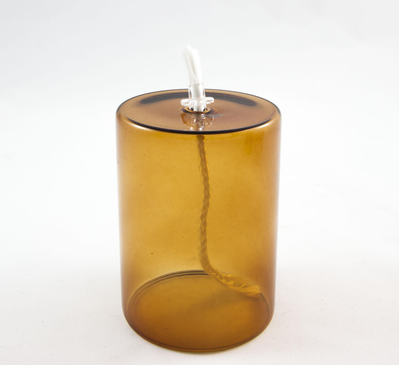 Lámpara de aceite M amber